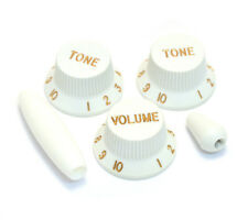 White Knob/Trem/Switch Tip Set for Fender Stratocaster/Strat® PK-0178-025