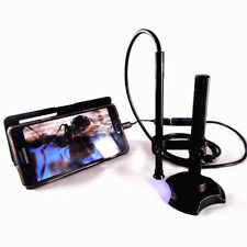 700X USB Digital Microscope Electronic Speculum Medical Endoscope 8mm Dia. Lens
