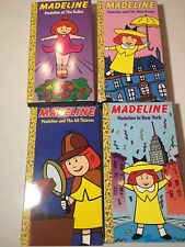 Lot of 4 Madeline VHS Video Tapes The New House New York 40 Thieves The Ballet