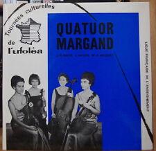 QUATUOR MARGAND TOURNEES CULTURELLES DE L'UFOLEA FRENCH EP MINT!!!