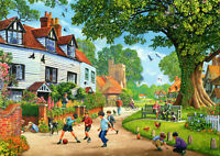 500 Pieces Jigsaw Puzzle Village Life - Brand New & Sealed