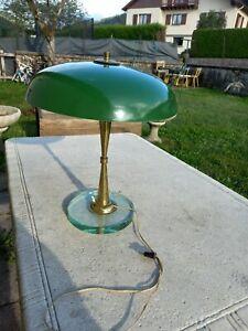 Lampe de bureau industrielle art deco  vintage