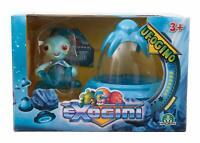 Exogini Ufogino Octopot & Blue Spaceship - (Damage Packaging) - EXG02110