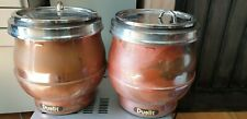 More details for 2 x dualit electric copper industrial soup kettle commercial soup warmer