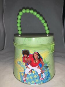 Disney Original High School Musical Chad & Monique Zippered Purse Tin-Mint