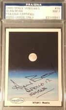 1990 Alan Bean Apollo 12 Space Shots Ventures Signed PSA/DNA NM 7 AUTHENTIC AUTO