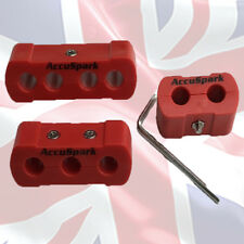 AccuSpark 8mm -10mm HT lead  wire Separators - Dividers set X  3