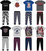 Men's Adults Character Novelty Pyjamas PJs Set Nightwear Sleepwear Size S M L XL