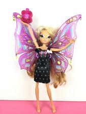 Winx Club Mattel Doll Flora Pixie Flight Flying Fly / Poupée