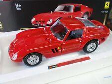 Bburago 1 18 Ferrari Automodello metallo Vasta Gamma con firma Serie 250 GTO