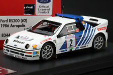 Ford RS200 (#2) 1986 Acropolis Rally -- HPI #8344 1:43 RESIN MODEL