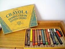 Vintage No. 336 Crayola Drawing Crayons With Some Crayons Free Shipping