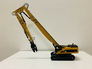 Caterpillar Cat 385C Dismantling Long Boom Metal Tracks 1:50 Scale DieCast Model