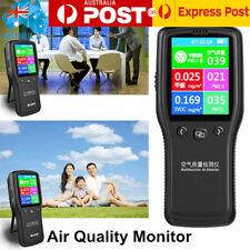 LCD Digital Air Quality Monitor PM2.5/TVOC/HCHO/CO2 Detector Gas Analyzer