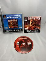 Carmageddon (Sony PlayStation 1, 1999) - European Version Ps1 Game Complete