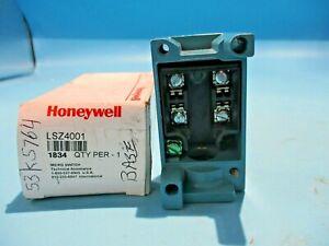 NEW HONEYWELL MICRO LSZ4001 LIMIT SWITCH BASE