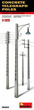 MiniArt 35563 CONCRETE TELEGRAPH POLES 1/35 unassembled model kit