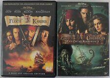 2 X DVD Fluch der Karibik - 2-Disc Set Special Edition (2004)+ Zweiter teil.