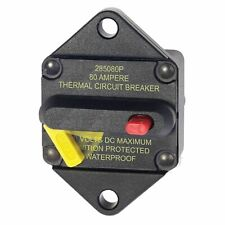 Blue Sea 7086 285-Series Circuit Breaker Panel Mount 80A Switch Marine