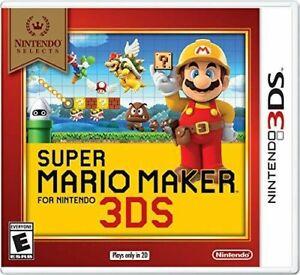 Super Mario Maker (Nintendo 3DS)Brand new(Factory sealed)