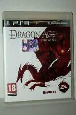 DRAGON AGE: ORIGINS USATO BUONO STATO SONY PS3 EDIZIONE ITALIANA PAL FR1 31199