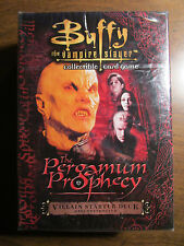 "Buffy The Vampire Slayer TCG - ""pergamum Prophecy"" Hero Starter Deck -score 2001"