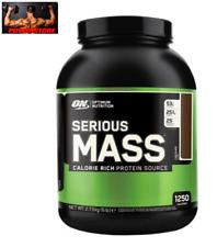 OPTIMUM NUTRITION - SERIOUS MASS 6 lbs (2721g) - mass Gainer Increase mass