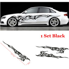 Universal Car Body Decal Vinyl Flame Graphics Side Stickers Racing Sport Decals