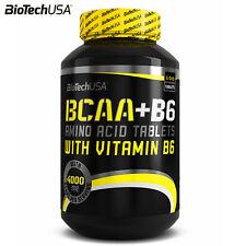 BioTech USA BCAA + B6 100 TAB MUSCLE GROWTH GAINS ANABOLIC AMINO ACIDS NUTRITION