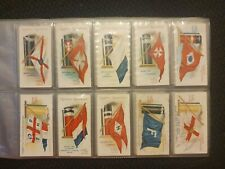 Flags and Funnels (1906) Ogdens Cigarette Cards - Complete Your Set