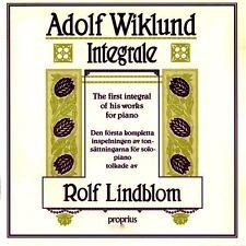 PROPRIUS 2LPs PROP 9955-6: Adolf WIKLUND - Integrale, Rolf Lindblom OOP 1986 NEW