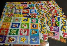 EDW1949SELL : EAST TIMOR 2001 Pokemon Cplt set of 10 Diff. Sheetlets. VF Mint NH