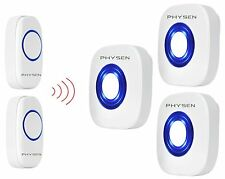 Wireless Doorbell System Plug in Long Range Loud 2 Remote Button 3 Receiver Home