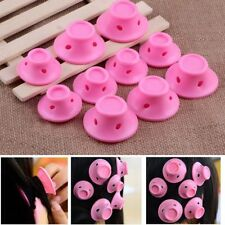10pcs Silicone Hair Curler Magic Hair Care Rollers No Heat Hair Styling Tools