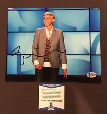 BECKETT COA! ELLEN DEGENERES Signed Autographed 8x10 Photo