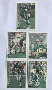Vintage NFL American Football Eagles Player Cards 1992 Pacific Team NFL