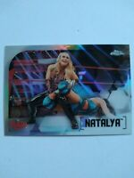 2020 Topps Chrome WWE Natalya REFRACTOR No. 44