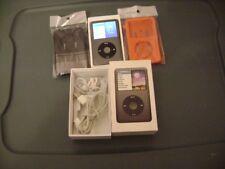 apple ipod classic 7th generation 160gb dark gray bundle with box good condition