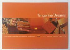 Tangerine Dreams, Third Street Promenade and Downtown Santa Monica Postcard Ad