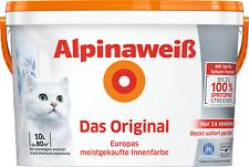 10L Alpinaweiß Das Original - weiße Innenfarbe - spritzfrei