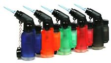 one display 20 Packs 45 Degree Angle Jet Flame Butane Torch Refillable Windproof