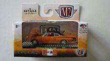 1970 Dodge Super Bee 383 Orange/Black ** m2 Machines Detroit Muscle 1:64 NUOVO