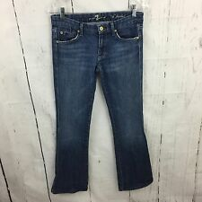 """7 For All Mankind A Pocket Jeans Women's Size 27 Boot Cut 30"""" Inseam #3A"""