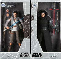 "Disney D23 Expo Exclusive Star Wars 12"" Figure Doll REY & KYLO REN LE 1000 NEW"