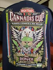 New listing High Times XL Men Denver U.S. Cannabis Cup 2014 Weed Marijuana Ganja T-Shirt