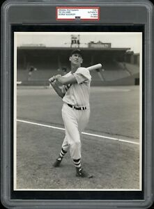 Ted Williams 1950 Red Sox Type 1 Original Photo Woodruff PSA/DNA Crystal Clear!