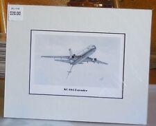 KC-10A Extender Tanker 8X10 Matted Art Print by artist Willie Jones Jr.