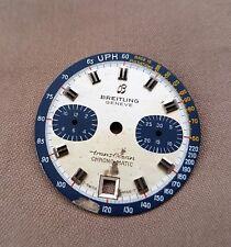 BREITLING GENEVE TRANSOCEAN CHRONOMATIC ZIFFERBLATT 1970er JAHRE ID: 243/5