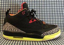 9606f0fe40d20c Nike Jordan Son Of Mars Low GS Sneakers Girls US Size 5Y Black Armory Blue