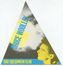 "Vintage Music Promo Sticker: ""Bruce Woolley and the Camera Club"""